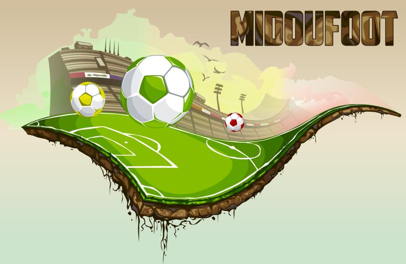 Midou foot et les lions direction coupe du monde 1 - Jeu de foot coupe du monde ...